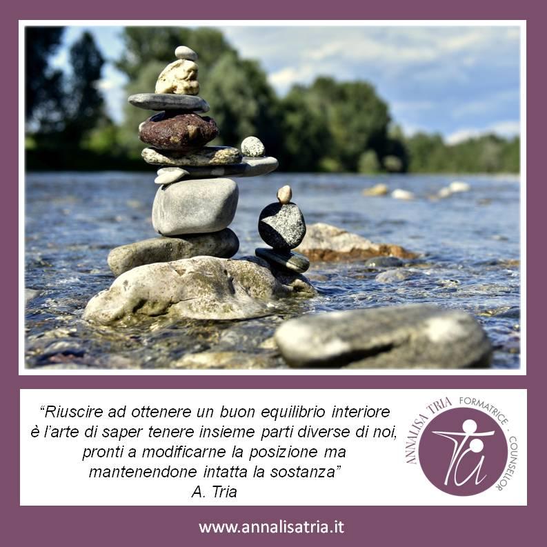 Aforisma 24 Equilibrio Interiore Counselling Annalisa Tria GRUEMP