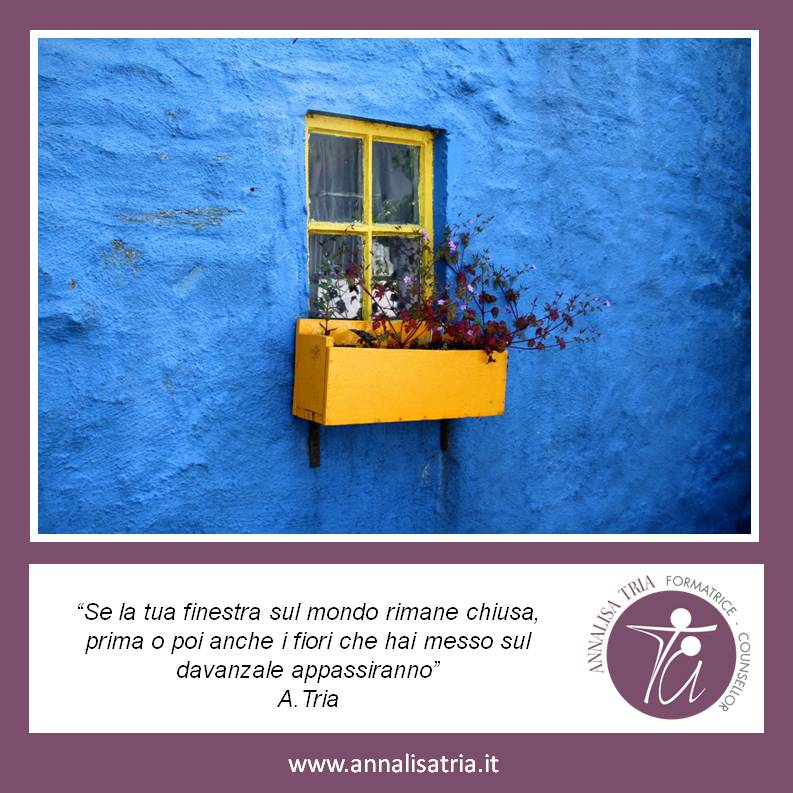 Aforisma 26 Apertura al mondo Counselling Annalisa Tria GRUEMP